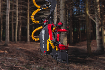 harvester head - logging - forestery excavator - tête multifonctionnel - excavatrice forestière